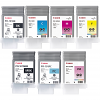 Original Canon PFI-101 Multipack Set Of 7 Ink Cartridges (PFI-101MBK /BK/C/M/Y/PC/PM)