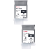 Original Canon PFI-101BK Black Twin Pack Ink Cartridges (0883B001AA)