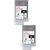 Original Canon PFI-102BK Black Twin Pack Ink Cartridges (0895B001AA)