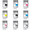 Original Canon PFI-106 Multipack Set Of 9 Ink Cartridges (PFI-106MBK /BK/C/M/Y /PC/PM/GY/PGY)