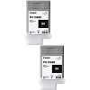 Original Canon PFI-106BK Black Twin Pack Ink Cartridges (6621B001)