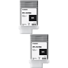 Original Canon PFI-107BK Black Twin Pack Ink Cartridges (6705B001AA)