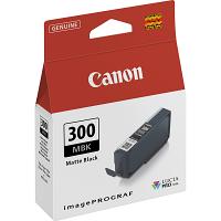 Original Canon PFI-300MBK Matte Black Ink Cartridge (4192C001)