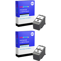 Premium Compatible Canon PG-37 Black Twin Pack Ink Cartridges (2145B001)