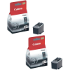 Original Canon PG-37 Black Twin Pack Ink Cartridges (2145B001)