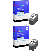 Premium Compatible Canon PG-40 Black Twin Pack Ink Cartridges (0615B001)