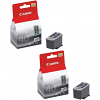 Original Canon PG-40 Black Twin Pack Ink Cartridges (0615B001)