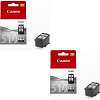 Original Canon PG-510 Black Twin Pack Ink Cartridges