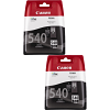 Original Canon PG-540 Black Twin Pack Ink Cartridges (5225B005)