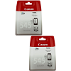 Original Canon PG-545 Black Twin Pack Ink Cartridges (8287B004)