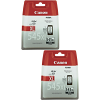 Original Canon PG-545XL Black Twin Pack High Capacity Ink Cartridges (8286B001)