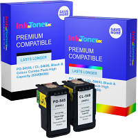 Premium Remanufactured Canon PG-545XL / CL-546XL Black & Colour Combo Pack High Capacity Ink Cartridges (8286B006)