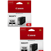 Original Canon PGI-1500BKXL Black Twin Pack High Capacity Ink Cartridges (9182B001)