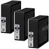 Original Canon PGI-2500BKXL Black Triple Pack High Capacity Ink Cartridges (9254B009)