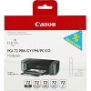 Original Canon PGI-72 PBK, GY, PM, PC, CO Multipack Ink Cartridges (6403B007)