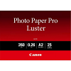 Original Canon Photo Paper Pro LU-101 A2 Luster Paper - 25 Sheets (6211B026)