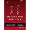 Original Canon VP-101 A4 Pro Variety Pack Photo Paper - 2x 5 Sheets (6211B020)