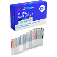 Premium Compatible Epson T636 Multipack Set Of 7 High Capacity Ink Cartridges (T6361/2/3/4/7/8/9)