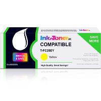 Value Compatible Toshiba T-FC25EY Yellow Toner Cartridge (6AJ00000081)
