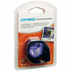 Original Dymo 12267 Black On Clear 12mm x 4m LetraTag Label Tape (S0721530)