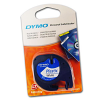 Original Dymo 91201 Black On White 12mm x 4m LetraTag Label Tape (S0721610)