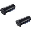 Original Dell 71MXV Black Twin Pack High Capacity Toner Cartridges (593-11185)
