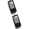 Original Dell Series 15 Black Twin Pack Ink Cartridges (592-10305)