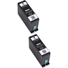 Original Dell Series 34 / 33 Black Twin Pack Extra High Capacity Ink Cartridges (592-11811)