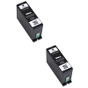 Original Dell Series 34 / 33 Black Twin Pack Extra High Capacity Ink Cartridges