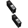 Original Dell X753N Black Twin Pack High Capacity Ink Cartridges (592-11311)