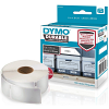 Original Dymo 1976200 White 25mm x 89mm Durable Label Tape - 100 Labels (1976200)
