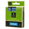 Original Dymo 45016 Black On Blue 12mm x 7m D1 Label Tape (S0720560)