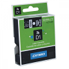 Original Dymo 45021 White On Black 12mm x 7m D1 Label Tape (S0720610)