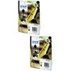 Original Epson 16XXL Black Twin Pack Extra High Capacity Ink Cartridges (C13T16814010)