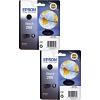 Original Epson 266 Black Twin Pack Ink Cartridges (C13T26614010)