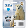 Original Epson 26XL Cyan High Capacity Ink Cartridge (C13T26324012)