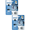 Original Epson 27XL Black Twin Pack High Capacity Ink Cartridges (C13T27114010)