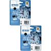 Original Epson 27XXL Black Twin Pack Extra High Capacity Ink Cartridges (C13T27914010)