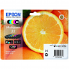 Original Epson 33 C, M, Y, K, PBK Multipack Ink Cartridges (C13T33374011)
