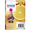 Original Epson 33 Magenta Ink Cartridge (C13T33434012)