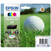 Original Epson 34 CMYK Multipack Ink Cartridges (C13T34664010)