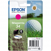 Original Epson 34 Magenta Ink Cartridge (C13T34634010)