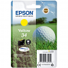 Original Epson 34 Yellow Ink Cartridge (C13T34644010)