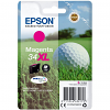 Original Epson 34XL Magenta High Capacity Ink Cartridge (C13T34734010)