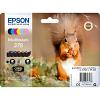Original Epson 378 C, M, Y, K, LC, LM Multipack Ink Cartridges (C13T37884010)