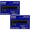Original Epson ERC-22 Black Twin Pack Fabric Ribbons (C43S015358)