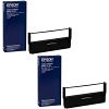 Original Epson ERC-31B Black Twin Pack Fabric Ribbons (C43S015369)