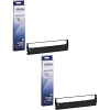 Original Epson S015631 Black Twin Pack SIDM Ribbons (C13S015637)