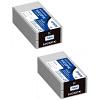 Original Epson S020601 Black Twin Pack Ink Cartridges (C33S020601)