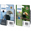 Original Epson T007 / T009 Black & Colour Combo Pack Ink Cartridges (C13T00740110 / C13T00940110)